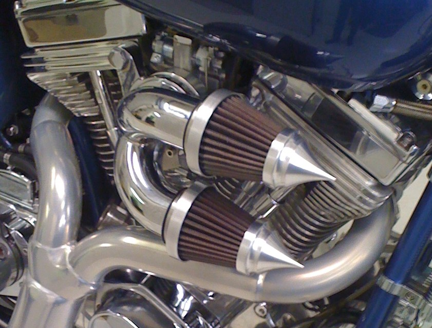 Volocity Stacks Chopper Air Cleaner : Exotic choppers velocity stacks custom air cleaners